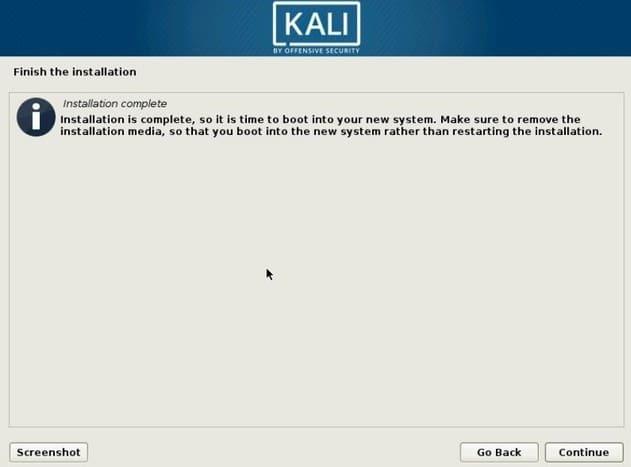 Hướng dẫn cài đặt Kali Linux 2020 và khám phá các tính năng mới 23