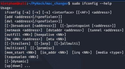 [PyHack] Bài 1: MAC là gì? Cách thay đổi MAC bằng python 10