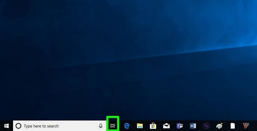 tạo desktop ảo windows 10