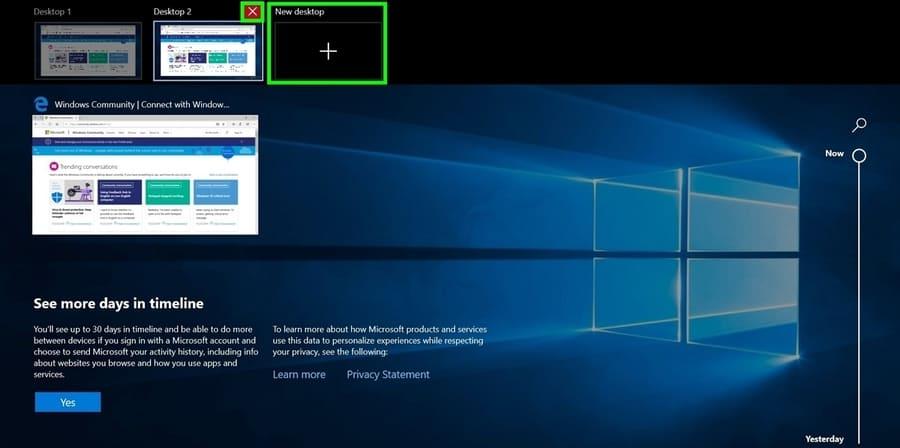 Cách sử dụng Desktop ảo trên Windows 10 để tạo nhiều màn hình Desktop 4