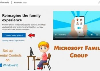 Microsoft Family Groups