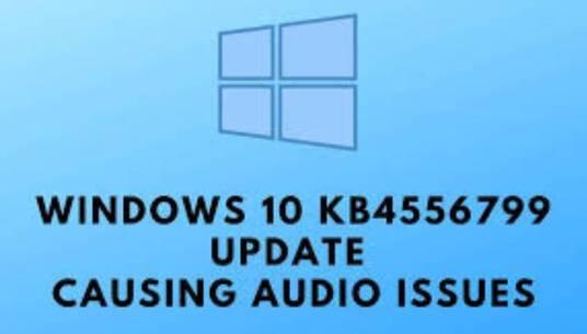 Bản vá Windows 10 KB4556799 bị lỗi mất âm thanh