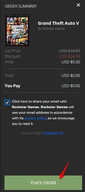 Download GTA 5 bản quyền miễn phí từ EPIC 7