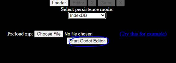start godot editor