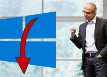 windows 10 mất đi người dùng