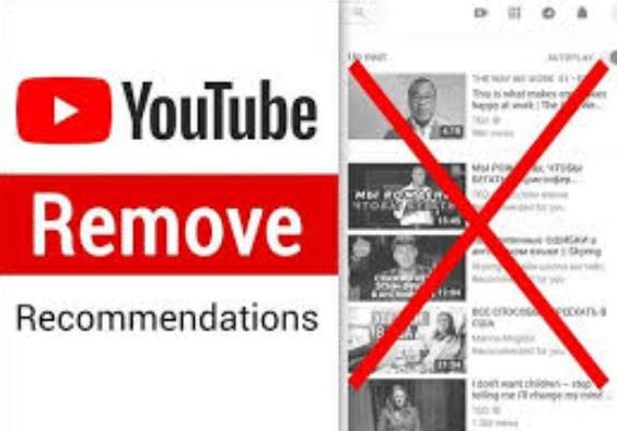 extension Remove recommendations youtube vk facebook