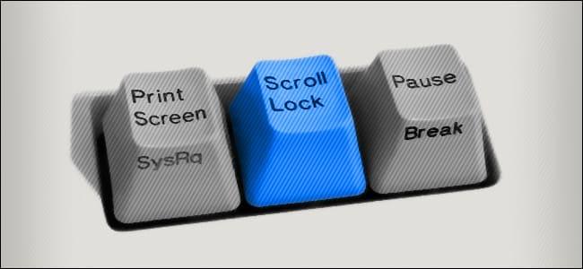 phím scroll lock là gì