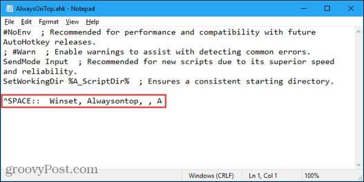 Cách làm cho phần mềm luôn hiển thị trên màn hình