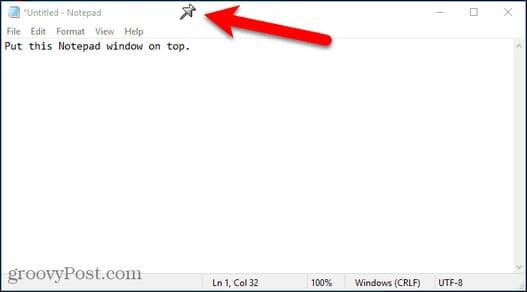 3 cách để giữ phần mềm Always on Top trên Windows 10 20