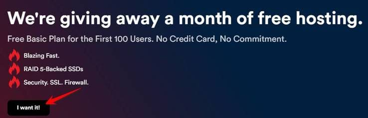 tạo Hosting miễn phí 1 tháng tại CynderHost