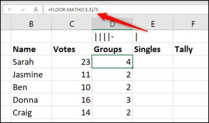 Cách tạo biểu đồ kiểm đếm trong Microsoft Excel 34