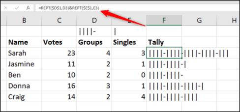 Cách tạo biểu đồ kiểm đếm trong Microsoft Excel 36