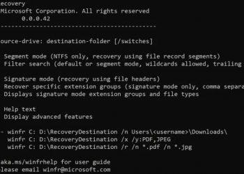 Cách cài đặt Windows File Recovery