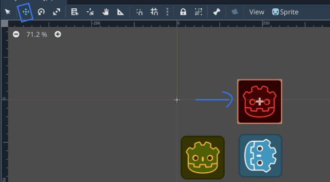 Các thao tác cơ bản trên Scene2D - Godot Engine cơ bản 116