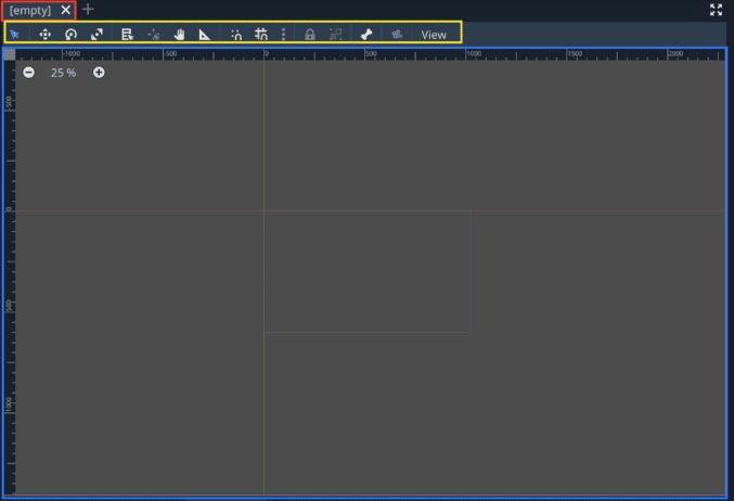 cách dùng Scene2D godot engine