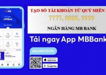 Cách tạo tài khoản ngân hàng số đẹp của MB Bank và nhận 150.000đ 1