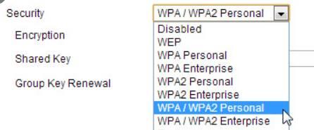 password wifi wpa