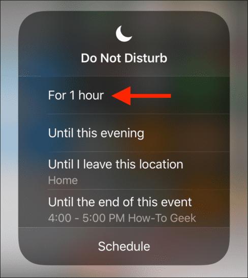 thông báo trên iPhone