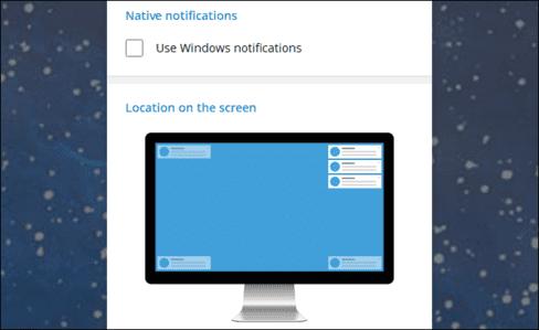 Cách di chuyển hoặc tắt cửa sổ thông báo trên Windows 10 9