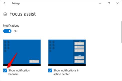 Cách di chuyển hoặc tắt cửa sổ thông báo trên Windows 10 11