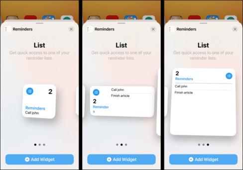Cách thêm và xoá widgets trên màn hình iPhone 33