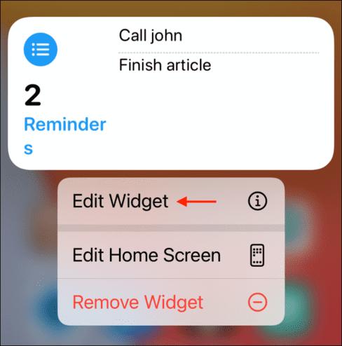 Cách thêm và xoá widgets trên màn hình iPhone 36