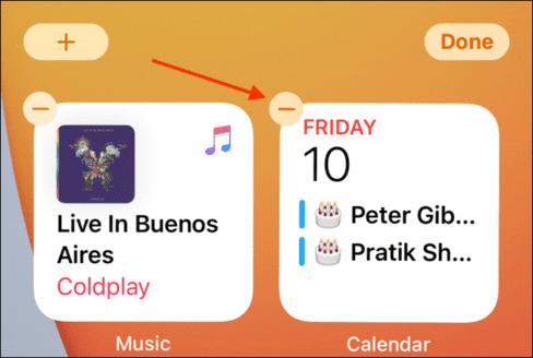 Cách thêm và xoá widgets trên màn hình iPhone 39