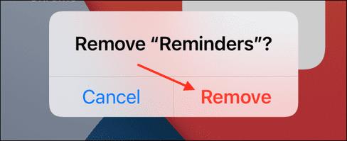 Cách thêm và xoá widgets trên màn hình iPhone 40