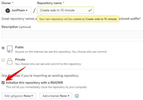 Cách tạo Website bằng Github đơn giản trong 15 phút 17