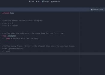 GDSCRIPT - Godot Engine cơ bản 4