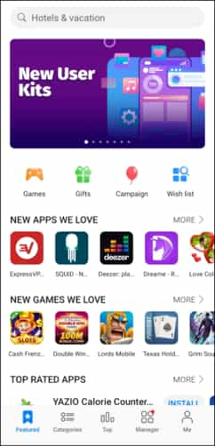 kho ứng dụng AppGallery