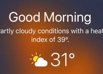 Cách hiển thị dự báo Thời tiết trên màn hình khóa iPhone