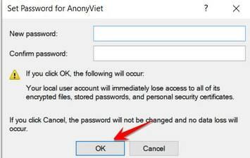 3 Cách xóa Password Windows nhanh nhất không cần nhập mật khẩu cũ 5