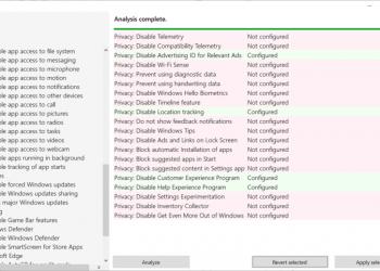 Spydish - Công cụ kiểm tra bảo mật và quyền riêng từ trên Windows 10 1
