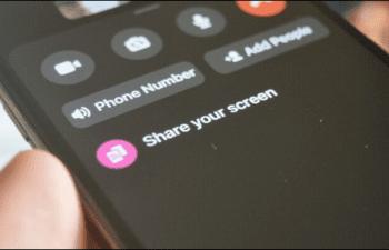 Cách chia sẻ màn hình điện thoại bằng Facebook Messenger cho người khác 1