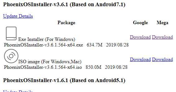 Hướng dẫn cài Hệ điều hành Phoenix Os ROC song song Windows 43