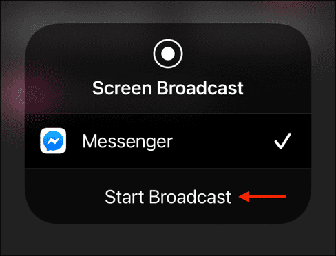Cách chia sẻ màn hình điện thoại bằng Facebook Messenger cho người khác 16