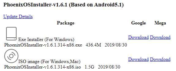 Hướng dẫn cài Hệ điều hành Phoenix Os ROC song song Windows 44