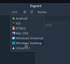 [Godot Engine] Export sang Windows, Linux, MacOS, Android 25