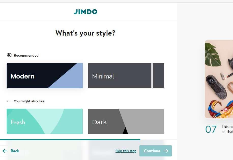 Tạo Website với Domain .com miễn phí bằng Iban với Jimbo 41