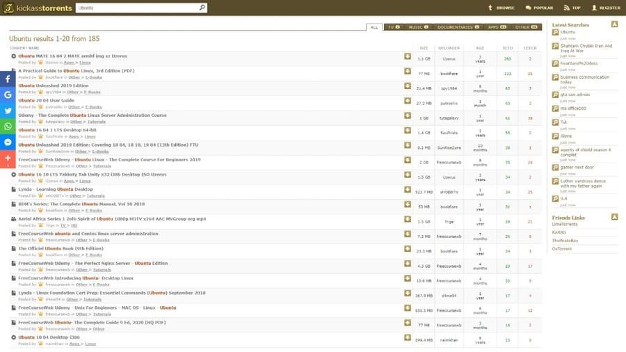 10 trang web Torrent hay nhất năm hiện nay - 100% còn hoạt động 14