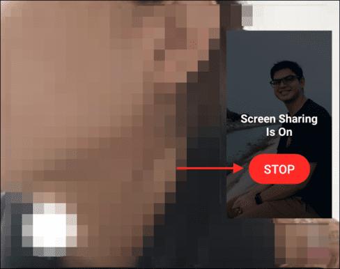 Cách chia sẻ màn hình điện thoại bằng Facebook Messenger cho người khác 13