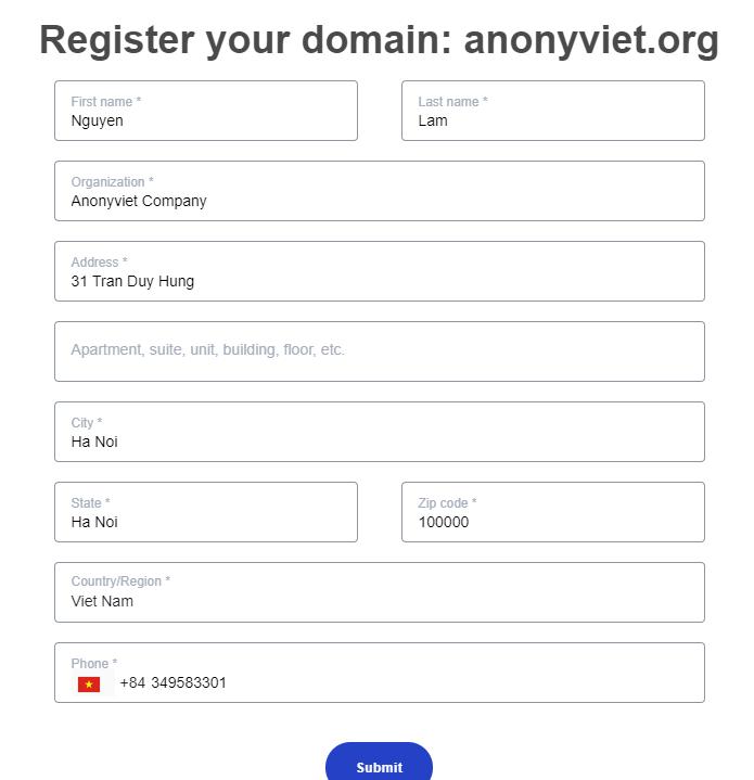 Đăng Ký Domain .COM . NET .ORG Free 1 Năm Với Giá 0đ Của Yahoo Small Business 62