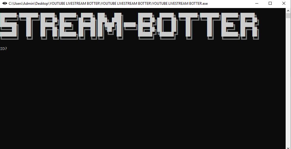 tăng view Youtube Livestream Botter