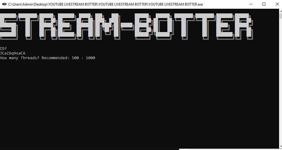 Youtube Livestream Botter -  Tool Tăng View Live Stream Trên Youtube 4