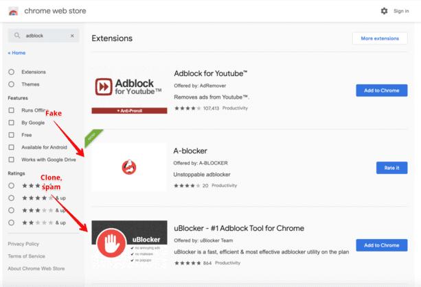 Danh sách các Extension độc hại trên Chrome cần phải xóa ngay 4