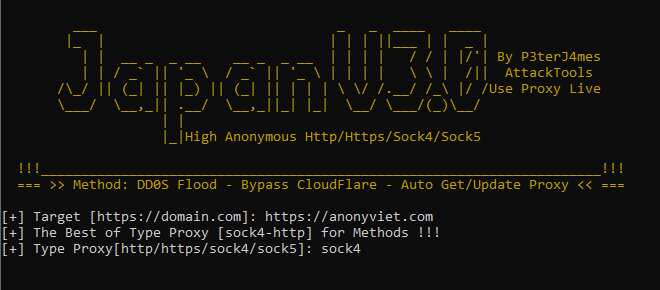 Share Tool DDoS Bypass Cloudflare Japan V3.0 7