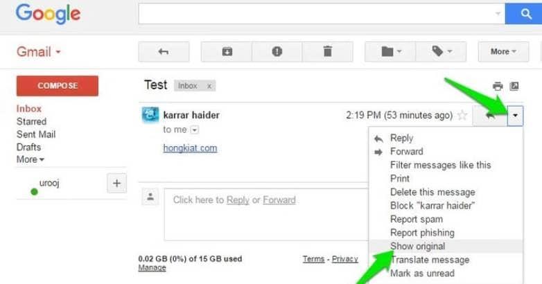 Cách phát hiện và ngăn chặn bị theo dõi Email từ người khác 13