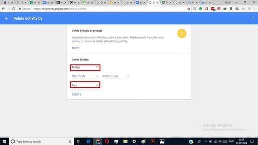 Cách Download và Xóa thông tin của bạn trên Google 3