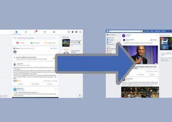 dùng giao diện cũ Facebook
